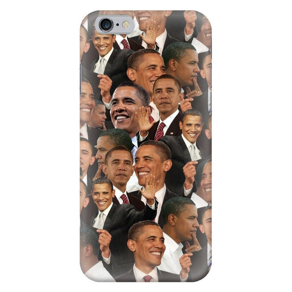 Barack Obama Face Smartphone Case-Gooten-iPhone 6/6s-| All-Over-Print Everywhere - Designed to Make You Smile