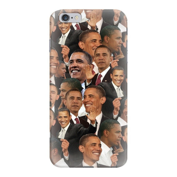 Barack Obama Face Smartphone Case-Gooten-iPhone 6 Plus/6s Plus-| All-Over-Print Everywhere - Designed to Make You Smile