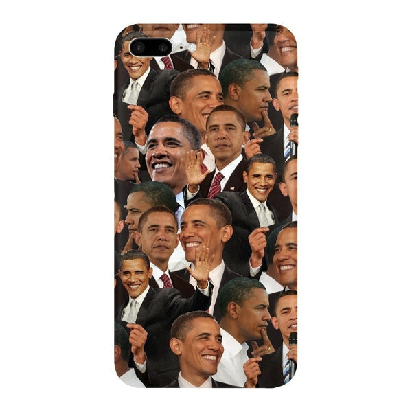 Barack Obama Face Smartphone Case-Gooten-iPhone 7 Plus-| All-Over-Print Everywhere - Designed to Make You Smile