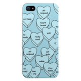Blue Hearts Smartphone Case-Gooten-iPhone 5/5s/SE-| All-Over-Print Everywhere - Designed to Make You Smile