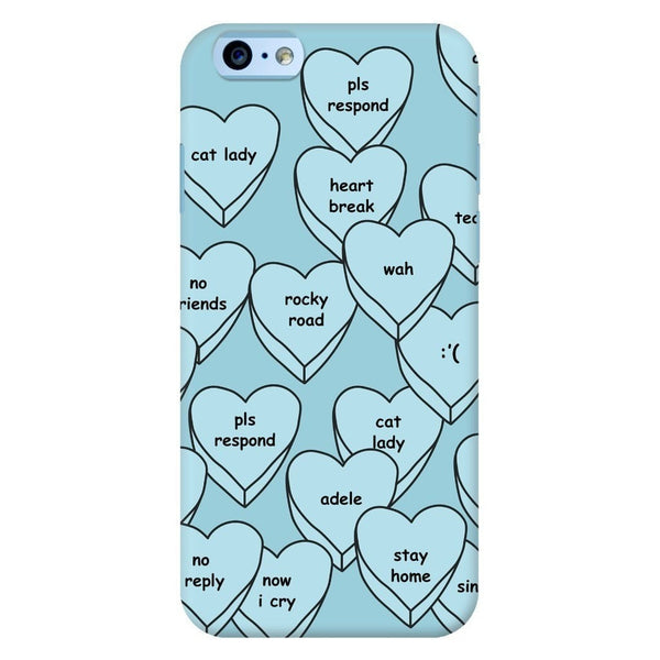 Blue Hearts Smartphone Case-Gooten-iPhone 6/6s-| All-Over-Print Everywhere - Designed to Make You Smile