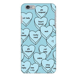 Blue Hearts Smartphone Case-Gooten-iPhone 6 Plus/6s Plus-| All-Over-Print Everywhere - Designed to Make You Smile