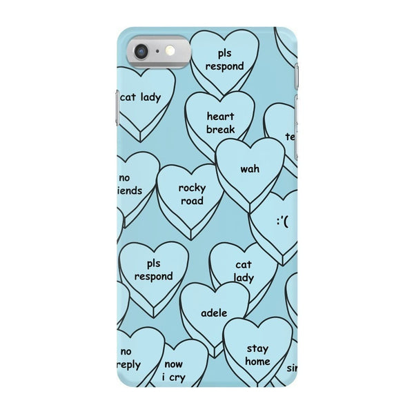Blue Hearts Smartphone Case-Gooten-iPhone 7-| All-Over-Print Everywhere - Designed to Make You Smile