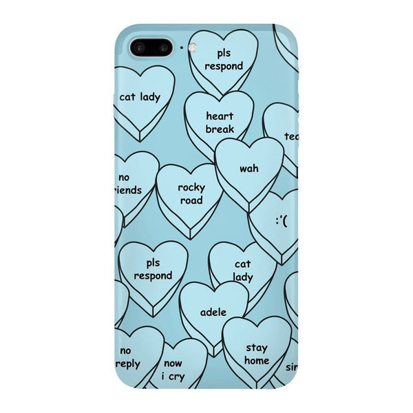 Blue Hearts Smartphone Case-Gooten-iPhone 7 Plus-| All-Over-Print Everywhere - Designed to Make You Smile