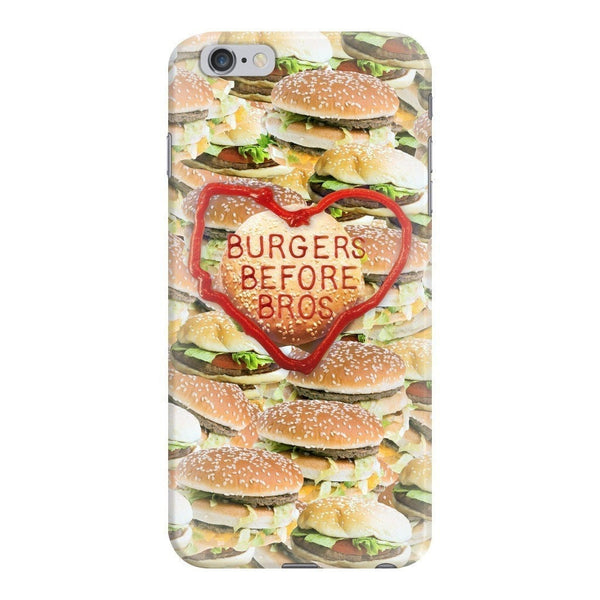 Burgers Before Bros Smartphone Case-Gooten-iPhone 6 Plus/6s Plus-| All-Over-Print Everywhere - Designed to Make You Smile