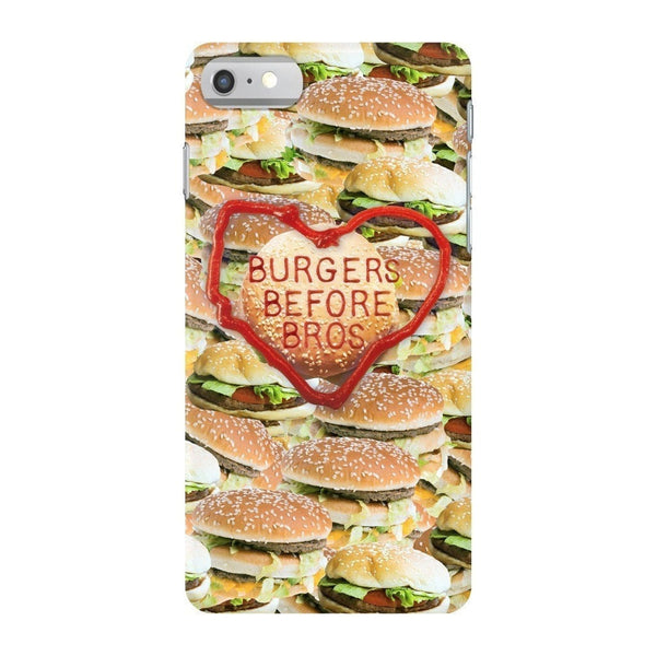 Burgers Before Bros Smartphone Case-Gooten-iPhone 7-| All-Over-Print Everywhere - Designed to Make You Smile