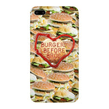 Burgers Before Bros Smartphone Case-Gooten-iPhone 7 Plus-| All-Over-Print Everywhere - Designed to Make You Smile