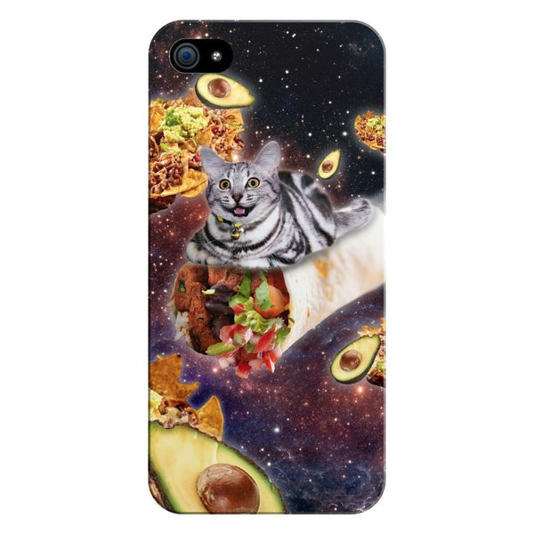 Burrito Cat Smartphone Case-Gooten-iPhone 5/5s/SE-| All-Over-Print Everywhere - Designed to Make You Smile