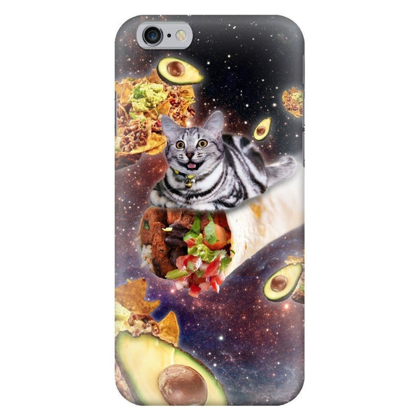 Burrito Cat Smartphone Case-Gooten-iPhone 6/6s-| All-Over-Print Everywhere - Designed to Make You Smile