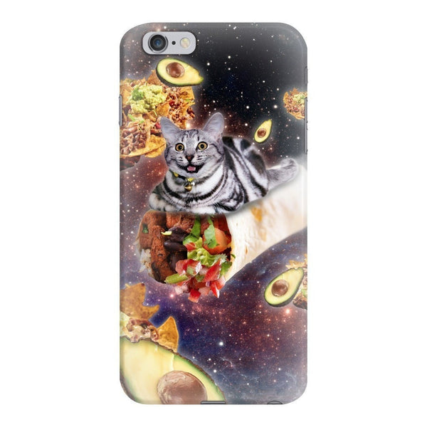 Burrito Cat Smartphone Case-Gooten-iPhone 6 Plus/6s Plus-| All-Over-Print Everywhere - Designed to Make You Smile