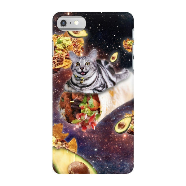 Burrito Cat Smartphone Case-Gooten-iPhone 7-| All-Over-Print Everywhere - Designed to Make You Smile