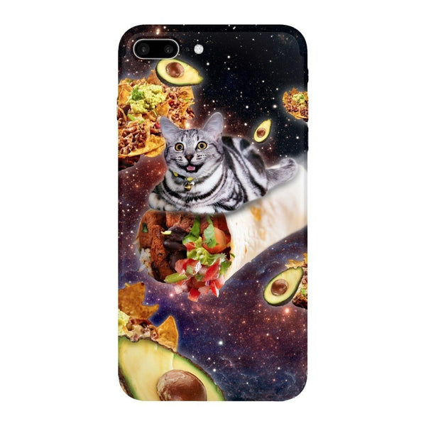 Burrito Cat Smartphone Case-Gooten-iPhone 7 Plus-| All-Over-Print Everywhere - Designed to Make You Smile