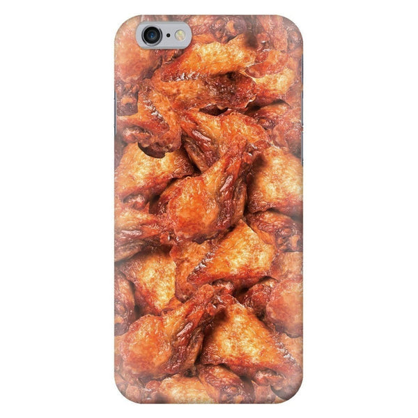 Chicken Wings Invasion Smartphone Case-Gooten-iPhone 6/6s-| All-Over-Print Everywhere - Designed to Make You Smile
