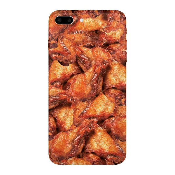 Chicken Wings Invasion Smartphone Case-Gooten-iPhone 7 Plus-| All-Over-Print Everywhere - Designed to Make You Smile