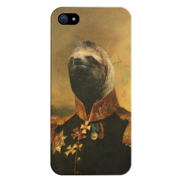 Commander Sloth Smartphone Case-Gooten-iPhone 5/5s/SE-| All-Over-Print Everywhere - Designed to Make You Smile