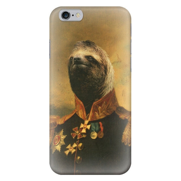 Commander Sloth Smartphone Case-Gooten-iPhone 6/6s-| All-Over-Print Everywhere - Designed to Make You Smile