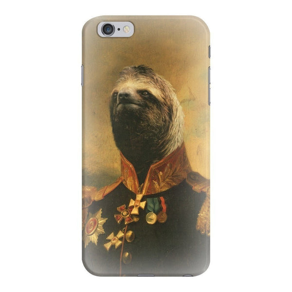 Commander Sloth Smartphone Case-Gooten-iPhone 6 Plus/6s Plus-| All-Over-Print Everywhere - Designed to Make You Smile
