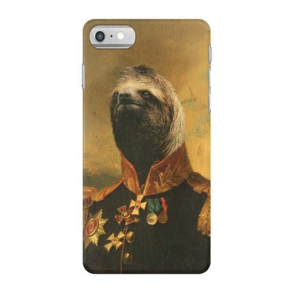 Commander Sloth Smartphone Case-Gooten-iPhone 7-| All-Over-Print Everywhere - Designed to Make You Smile