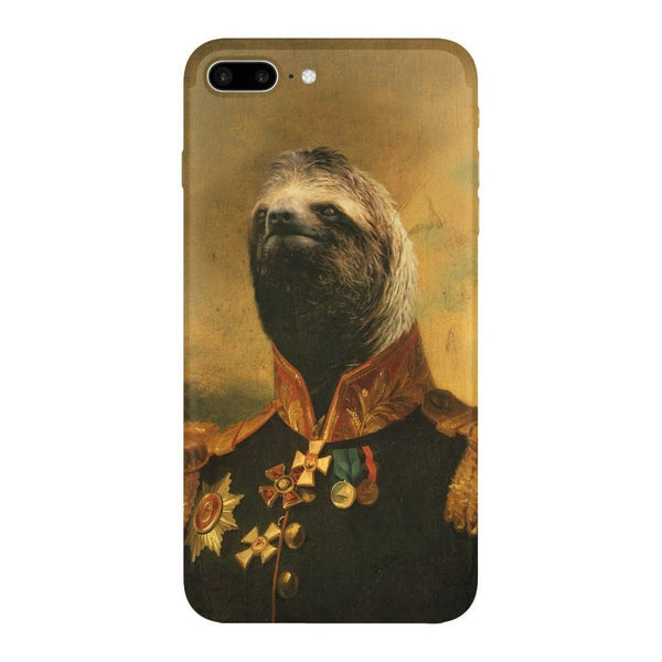 Commander Sloth Smartphone Case-Gooten-iPhone 7 Plus-| All-Over-Print Everywhere - Designed to Make You Smile
