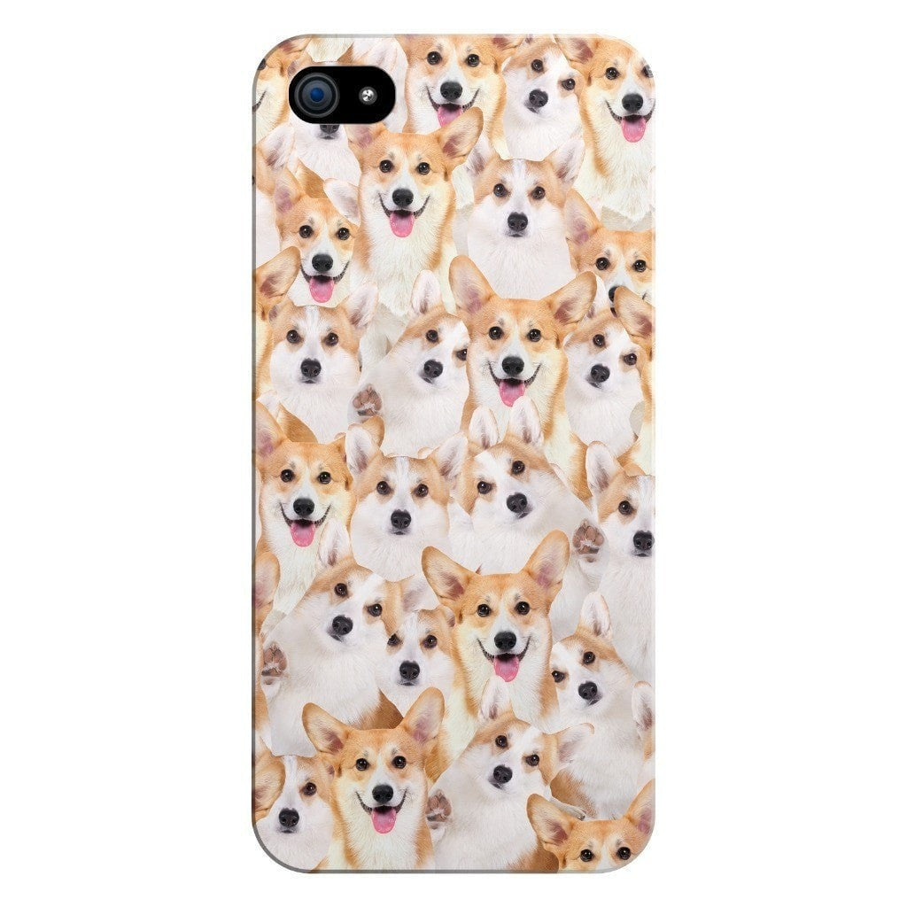 Corgi Invasion Smartphone Case-Gooten-iPhone 5/5s/SE-| All-Over-Print Everywhere - Designed to Make You Smile
