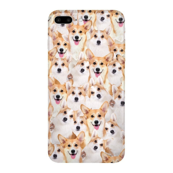 Corgi Invasion Smartphone Case-Gooten-iPhone 7 Plus-| All-Over-Print Everywhere - Designed to Make You Smile