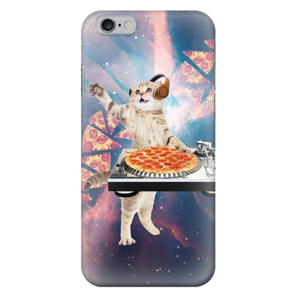 DJ Pizza Cat Smartphone Case-Gooten-iPhone 6/6s-| All-Over-Print Everywhere - Designed to Make You Smile