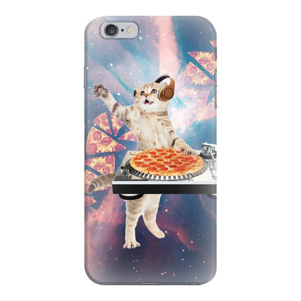 DJ Pizza Cat Smartphone Case-Gooten-iPhone 6 Plus/6s Plus-| All-Over-Print Everywhere - Designed to Make You Smile