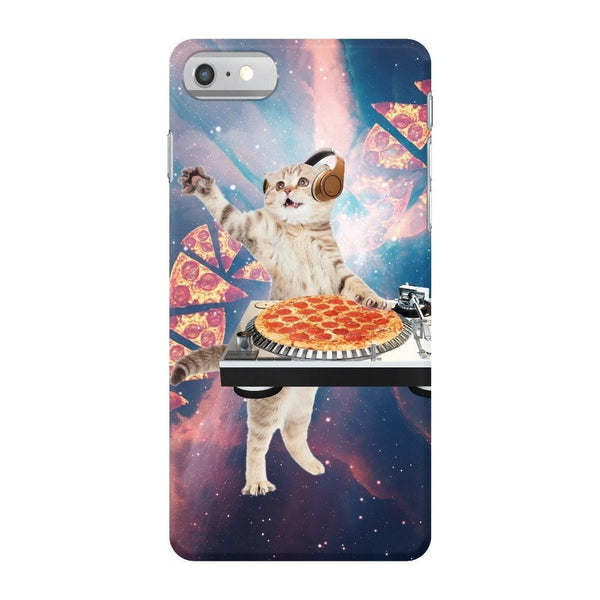 DJ Pizza Cat Smartphone Case-Gooten-iPhone 7-| All-Over-Print Everywhere - Designed to Make You Smile
