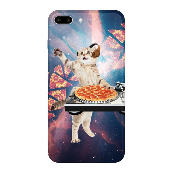 DJ Pizza Cat Smartphone Case-Gooten-iPhone 7 Plus-| All-Over-Print Everywhere - Designed to Make You Smile