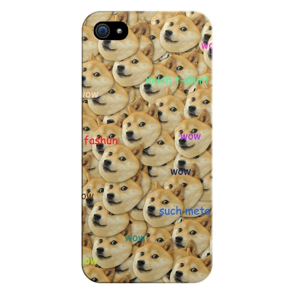 "Doge ""Much Fashun"" Invasion Smartphone Case-Gooten-iPhone 5/5s/SE-