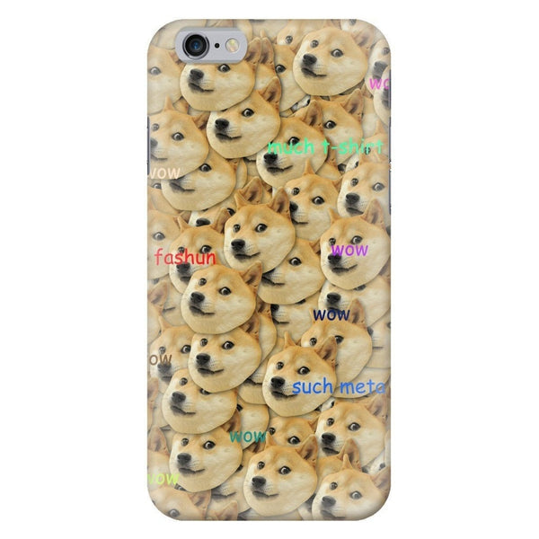 "Doge ""Much Fashun"" Invasion Smartphone Case-Gooten-iPhone 6/6s-