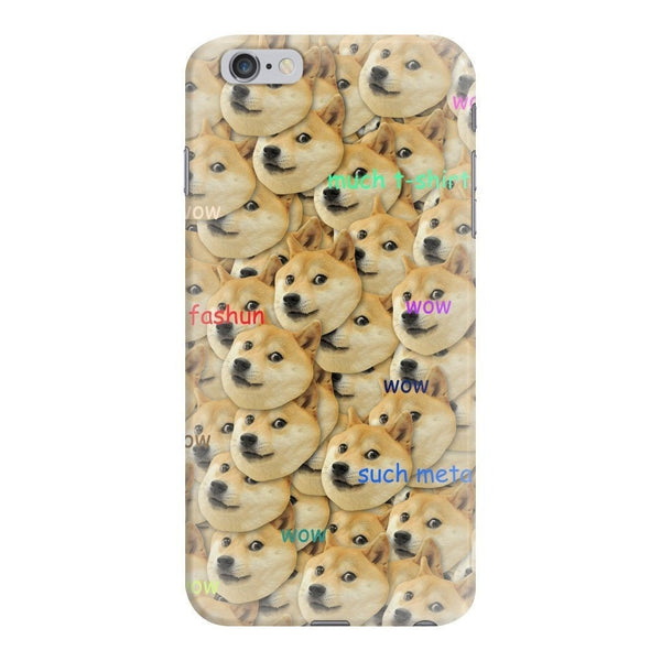 "Doge ""Much Fashun"" Invasion Smartphone Case-Gooten-iPhone 6 Plus/6s Plus-