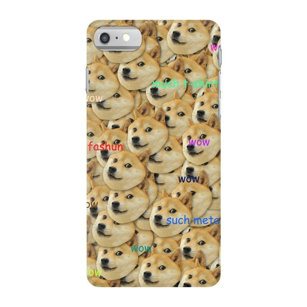 "Doge ""Much Fashun"" Invasion Smartphone Case-Gooten-iPhone 7-