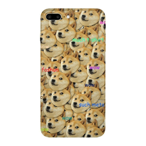 "Doge ""Much Fashun"" Invasion Smartphone Case-Gooten-iPhone 7 Plus-