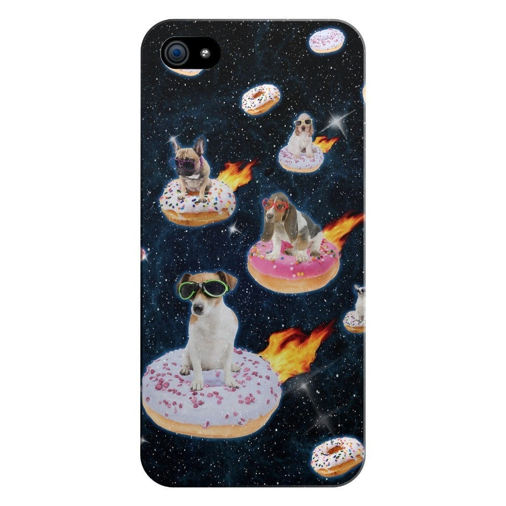 Dogs N' Donuts Smartphone Case-Gooten-iPhone 5/5s/SE-| All-Over-Print Everywhere - Designed to Make You Smile