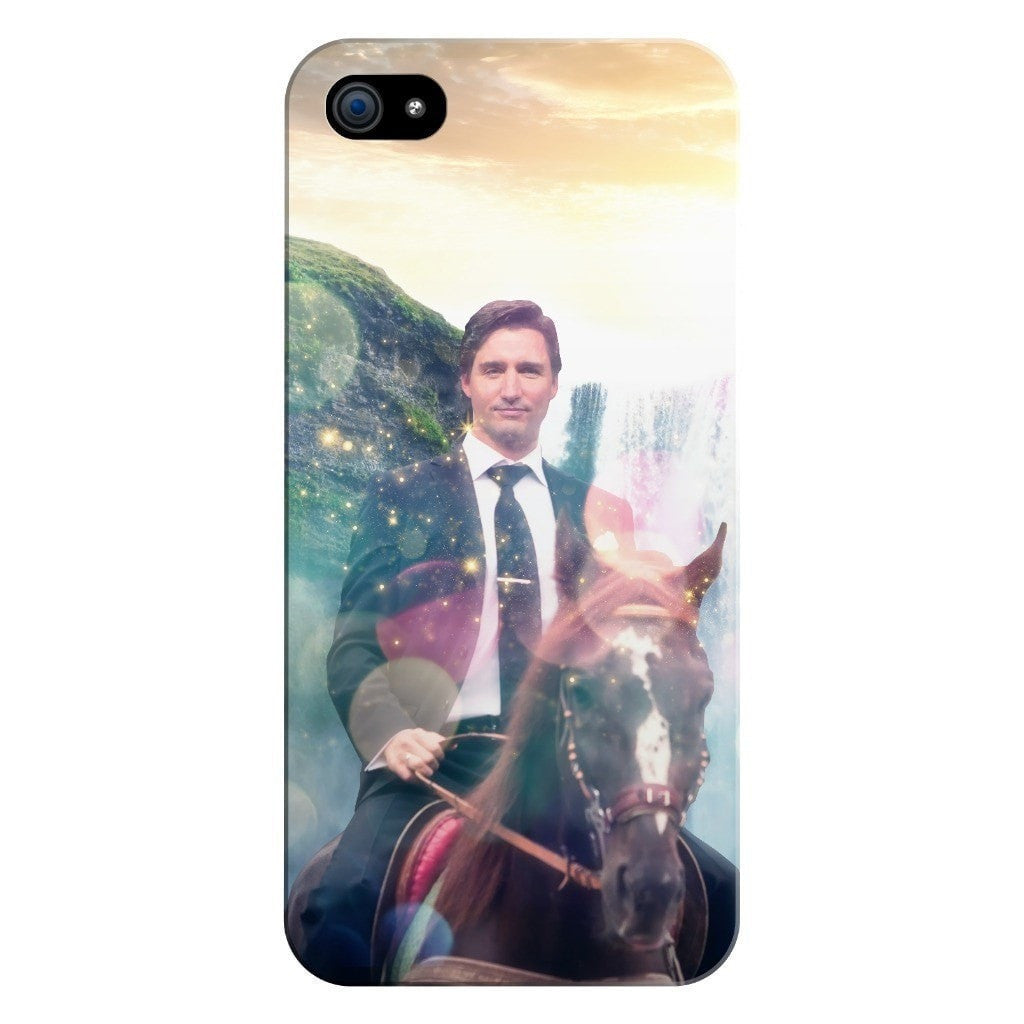 Dreamy Trudeau Smartphone Case-Gooten-iPhone 5/5s/SE-| All-Over-Print Everywhere - Designed to Make You Smile