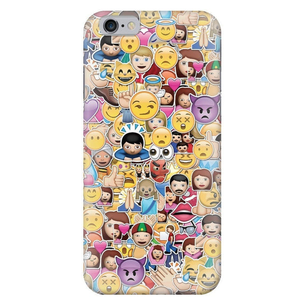 Emoji Invasion Smartphone Case-Gooten-iPhone 6/6s-| All-Over-Print Everywhere - Designed to Make You Smile