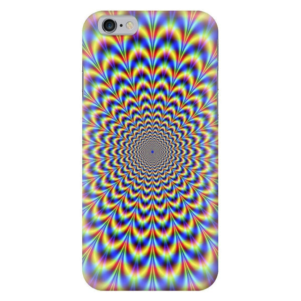 Fractal Pulse Smartphone Case-Gooten-iPhone 6/6s-| All-Over-Print Everywhere - Designed to Make You Smile