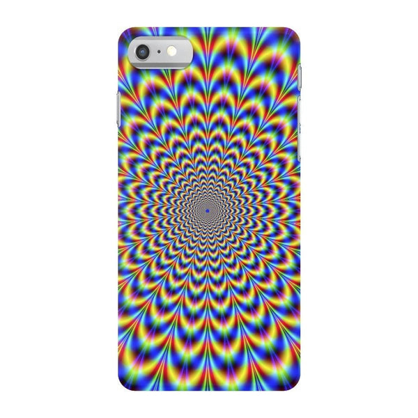 Fractal Pulse Smartphone Case-Gooten-iPhone 7-| All-Over-Print Everywhere - Designed to Make You Smile