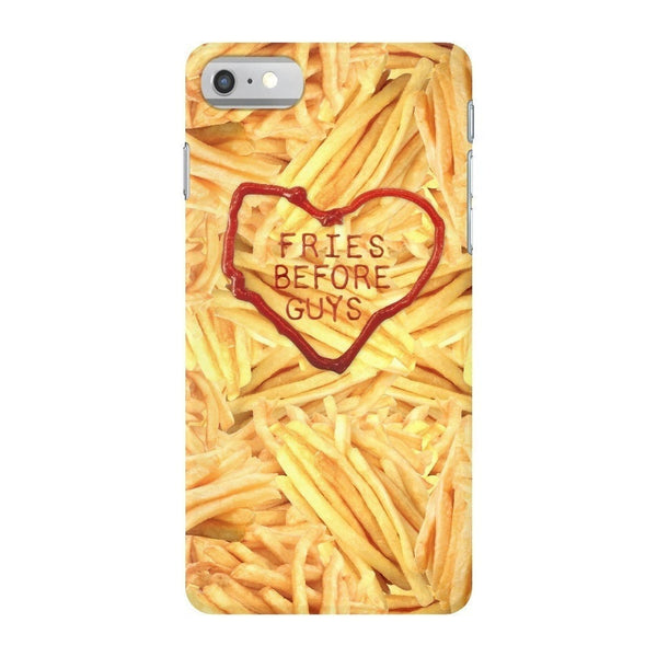 Fries Before Guys Smartphone Case-Gooten-iPhone 7-| All-Over-Print Everywhere - Designed to Make You Smile