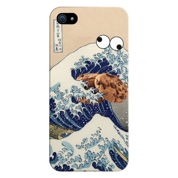 Great Wave of Cookie Monster Smartphone Case-Gooten-iPhone 5/5s/SE-| All-Over-Print Everywhere - Designed to Make You Smile