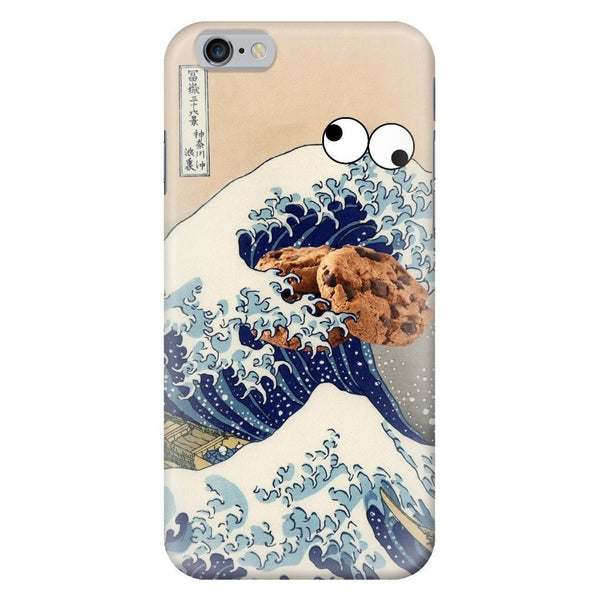 Great Wave of Cookie Monster Smartphone Case-Gooten-iPhone 6/6s-| All-Over-Print Everywhere - Designed to Make You Smile