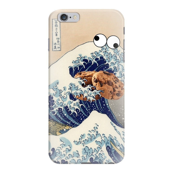 Great Wave of Cookie Monster Smartphone Case-Gooten-iPhone 6 Plus/6s Plus-| All-Over-Print Everywhere - Designed to Make You Smile