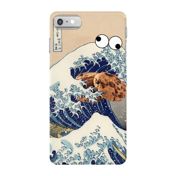 Great Wave of Cookie Monster Smartphone Case-Gooten-iPhone 7-| All-Over-Print Everywhere - Designed to Make You Smile