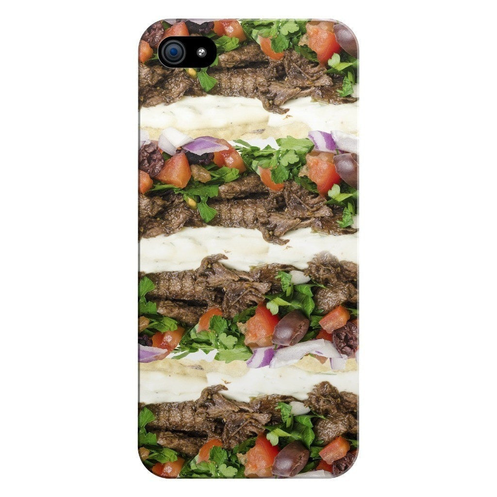 Gyros Invasion Smartphone Case-Gooten-iPhone 5/5s/SE-| All-Over-Print Everywhere - Designed to Make You Smile