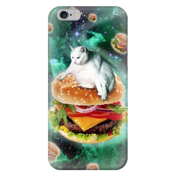 Hamburger Cat Smartphone Case-Gooten-iPhone 6/6s-| All-Over-Print Everywhere - Designed to Make You Smile