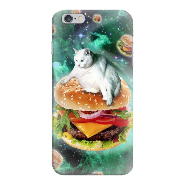 Hamburger Cat Smartphone Case-Gooten-iPhone 6 Plus/6s Plus-| All-Over-Print Everywhere - Designed to Make You Smile