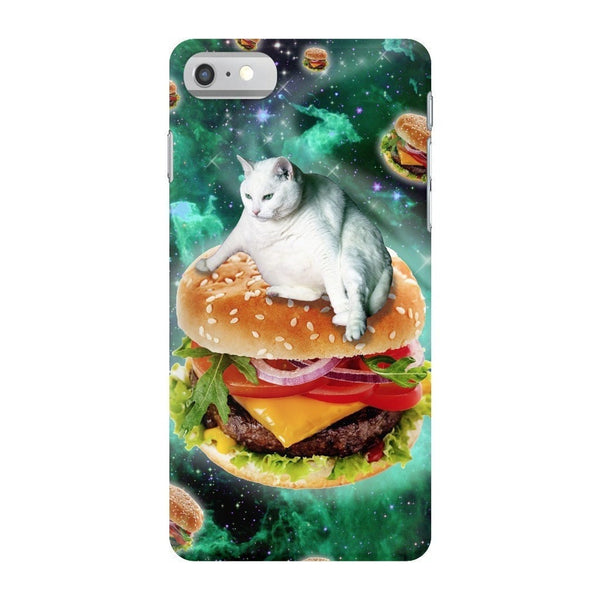Hamburger Cat Smartphone Case-Gooten-iPhone 7-| All-Over-Print Everywhere - Designed to Make You Smile