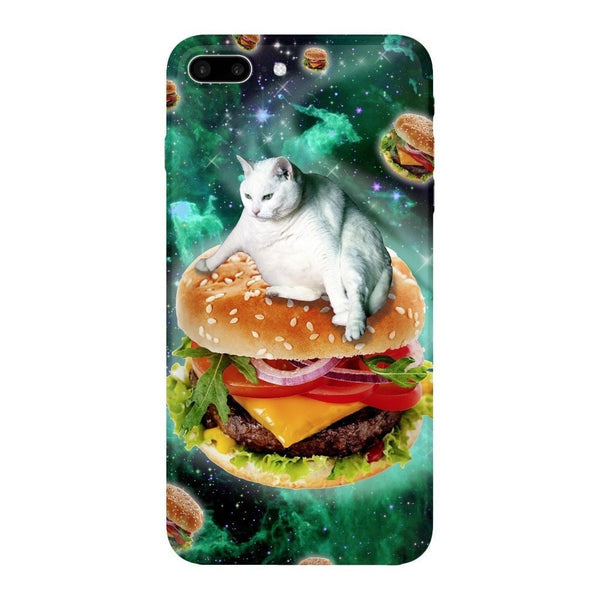 Hamburger Cat Smartphone Case-Gooten-iPhone 7 Plus-| All-Over-Print Everywhere - Designed to Make You Smile