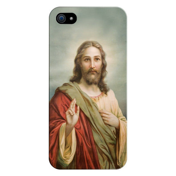 Holy Jesus Smartphone Case-Gooten-iPhone 5/5s/SE-| All-Over-Print Everywhere - Designed to Make You Smile